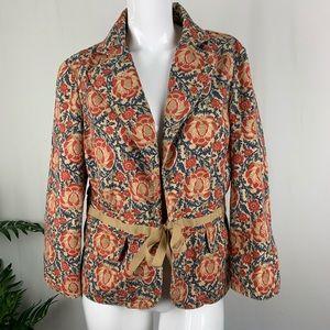 Liz Claiborne Bow front jacket Size 6